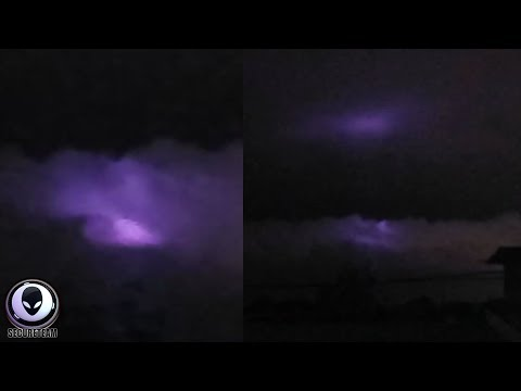 PURPLE Mystery Seen Above Philippines..