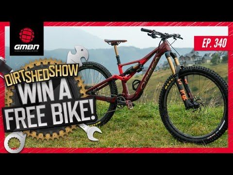 """The Worst MTBs We Have Ever Ridden"""" + We're Giving Away A Free Bike!   Dirt Shed Show Ep. 340"""