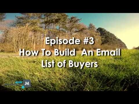 How To Build A Profitable Email List of Buyers