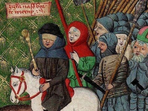 Rekonstrukcja walk z husytami pod murami Bytomia w 1430 roku