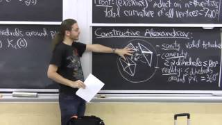 Lecture 17: Alexandrov's Theorem