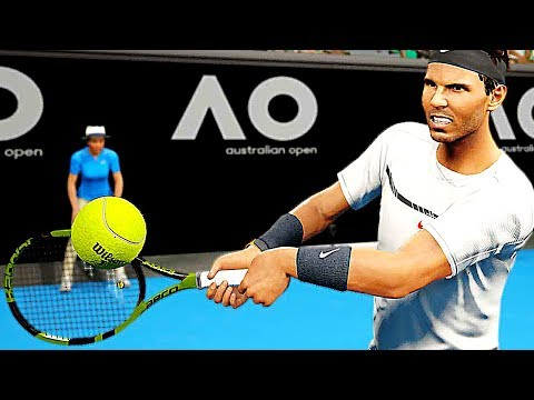 connectYoutube - AO TENNIS Gameplay Trailer (2018) PS4 / Xbox One