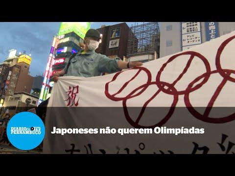 Japoneses são contrários à realização das Olimpíadas