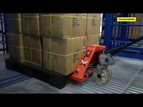 7-level floors of Multi-Tier warehouse solutions for Teerachaiphaisarn | SSI SCHAEFER