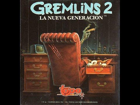 Gremlins 2 (Topo Soft 1990) con Bracula y Alfonso Fernández Borro