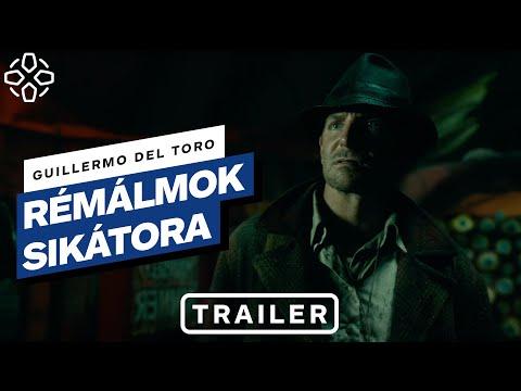 Rémálmok sikátora – magyar előzetes #1 (Bradley Cooper, Cate Blanchett, Guillermo del Toro)