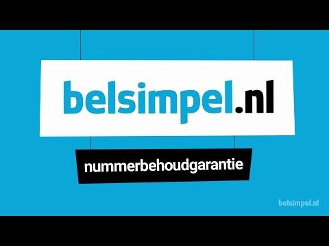 Nummerbehoudgarantie bij Belsimpel.nl