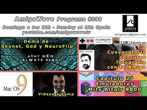 Programa #99 - Demo ganadora CapacitorParty 2017, Concurso Foto-Amiga, MacOs9, Mit Altair 8800...