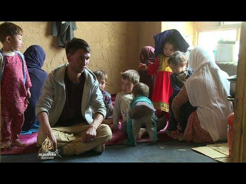 Hiljade raseljenih Afganistanaca traže utočište u Bamiyanu