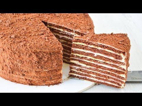 Шоколадный торт НА СКОВОРОДЕ ☆ Нежнее НЕЖНОГО
