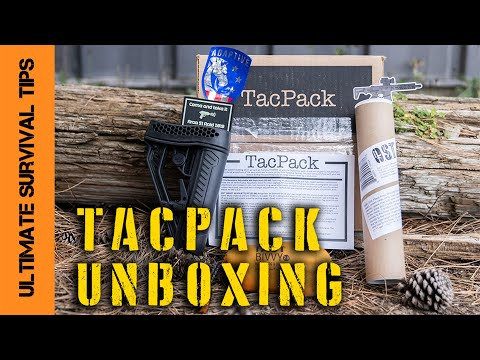 NEW! Tactical / Survival Gear - Delivered Monthly! Are TacPack Boxes Worth It? Let's see....