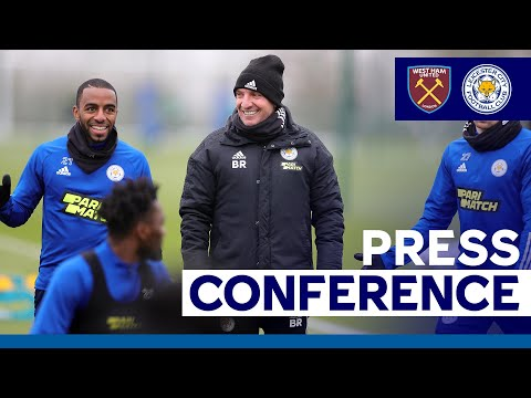 'An Important Game' - Brendan Rodgers   West Ham United vs. Leicester City