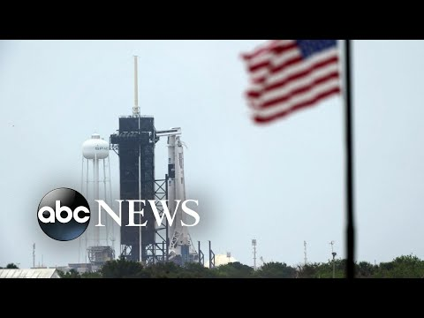Worries arise that weather will delay NASA and SpaceX's historic launch