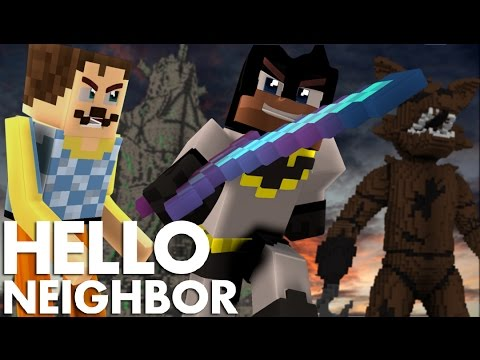 minecraft hello neighbor giga fnaf explosion giga