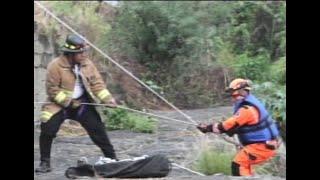 Dos motoristas son arrastrados por correntada del Río Platanitos en Villa Nueva