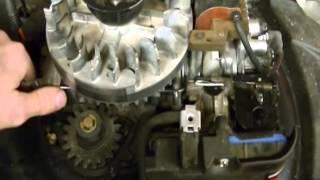 Briggs & stratton engine manual.