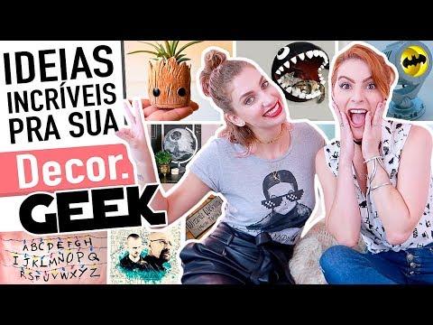 MTAS Ideias INCRÍVEIS Decoração Geek/Nerd - ft. Carol Moreira