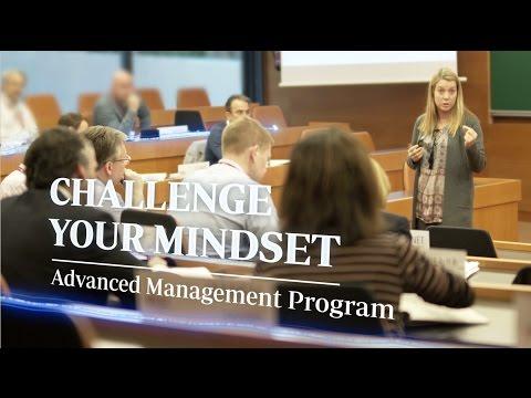 Challenge Your Mindset. IESE Advanced Management Program