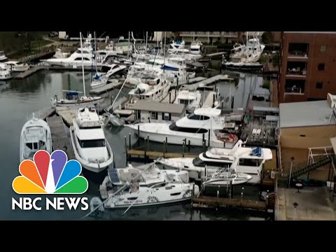 Over 100,000 Remain Without Power In Florida After Hurricane Sally | NBC News NOW
