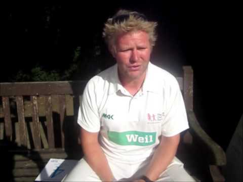 A message from Matthew Hoggard - All Out For Cricket in The City