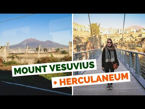 Mount Vesuvius and Herculaneum Day Trip in Naples, Italy