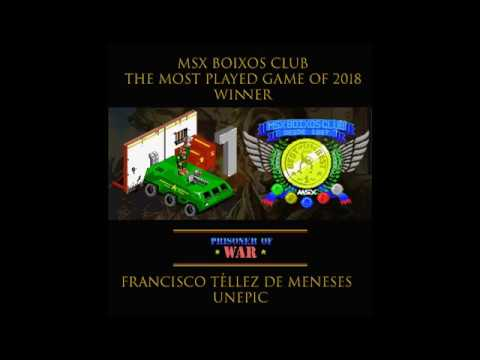 The Most Played Game MSX Boixos Club 2018