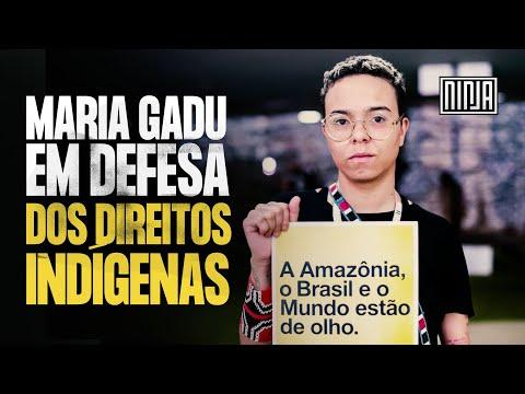 Maria Gadu em defesa dos direitos indígenas!