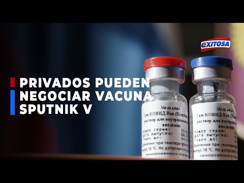 Óscar Ugarte indicó que empresas privadas pueden negociar con Rusia para adquirir vacuna Sputnik V