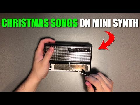 I played Christmas Songs on a Stylophone