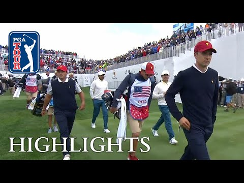 Spieth, Reed extended highlights | Day 3 | Presidents Cup
