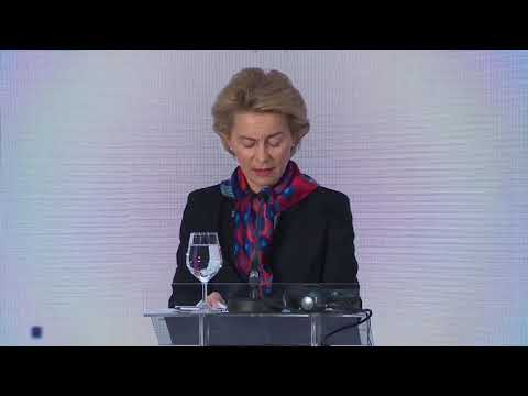 Croatian Presidency of EU Council: press conference opening remarks by President von der Leyen photo