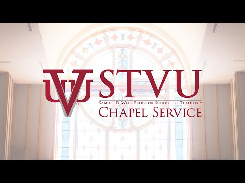 Virginia Union University Samuel DeWitt Proctor School of Theology | Saturday Chapel Service