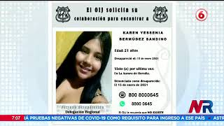 Investigan si restos hallados en Alajuela son de joven desaparecida
