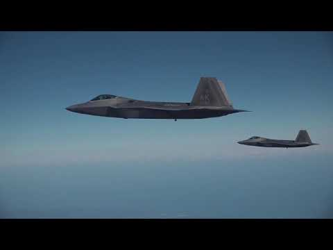 한미연합 공중훈련 '비질런트 에이스' 비행 모습