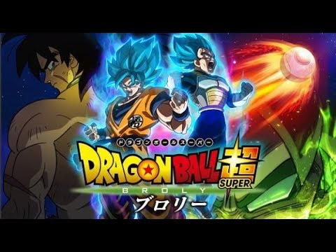 Dragon Ball Super BROLY IN THEATERS January 2019 in AMERICA!