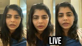 Singer Chinmayi Sripada Live On Instragram | TFPC - TFPC