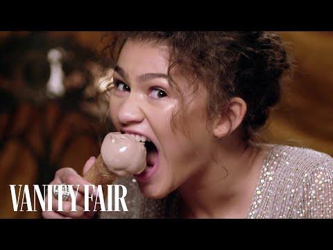 Zendaya Eats Ice Cream With Her Teeth | Secret Talent Theatre | Vanity Fair
