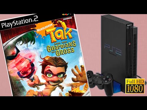 Playstation 2   TAK 4  and the Guardians of Gross   Gameplay 1080p.