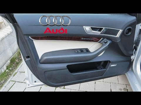 Audi A6 4f T 252 Rschloss Reparieren Demontage T 252 Rverkleidung Tomclip