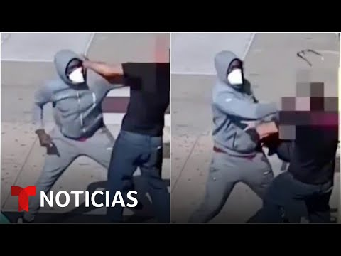 Golpean brutalmente a un anciano en un asalto en Nueva York   Noticias Telemundo