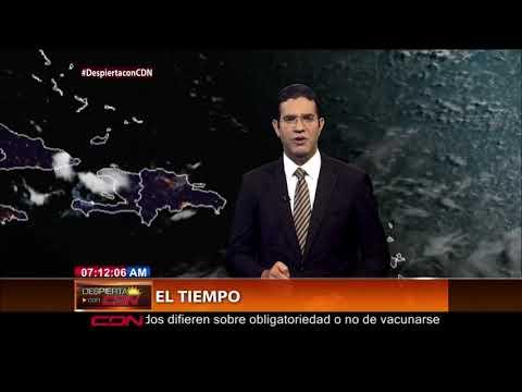 Continúan lluvias por efecto de vaguada en RD; seis provincias se mantienen en alerta