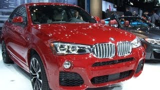 2015 BMW X4 gets by on style