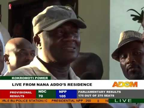 Dan Botwe at the residence of Nana Akufo Addo - Kokrokmoti Power on Adom TV (9-12-16)