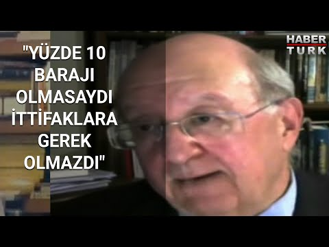 """Prof. Dr. Kalaycıoğlu: """"Yüzde 10 barajı olmasaydı ittifaklara gerek olmazdı"""" – Olaylar ve Görüşler"""