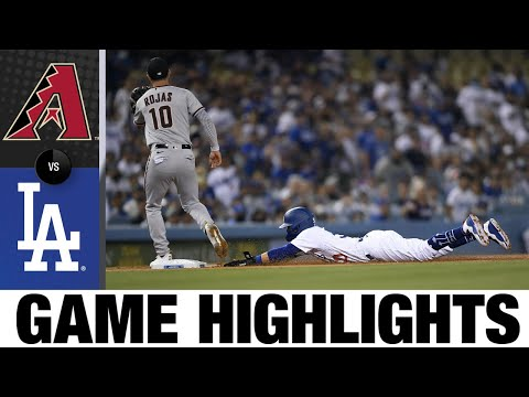 D-backs vs. Dodgers Game Highlights (9/13/21) | MLB Highlights