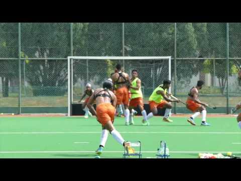India Mens Hockey training session 2