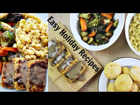 VEGAN THANKSGIVING FEAST // easy vegan recipes for the holidays
