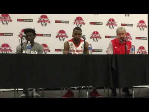 UNM Lobo press conference after CS-Northridge win 11/25/16