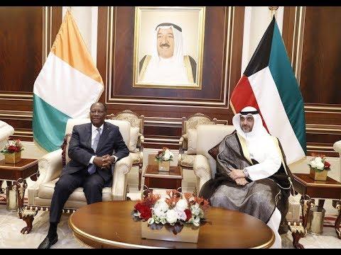 Le Chef de l'Etat est arrivé au Koweït pour une Visite officielle