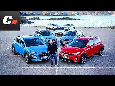 Hyundai Kona vs Stonic, C3 Aircross, Crossland X, 2008, Captur, Arona | Prueba SUV 2018 | coches.net